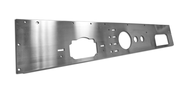 Rugged Ridge Replacement Dash Panel With Gauge Holes Pre