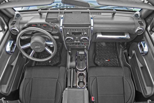 rugged ridge interior trim accent kit chrome jeep wrangler jk 07 rh jeepinoutfitters com jeep yj manual transmission noise jeep yj manual transmission noise