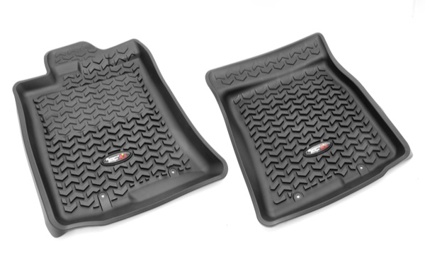 rugged ridge all terrain floor liner set front pair. Black Bedroom Furniture Sets. Home Design Ideas