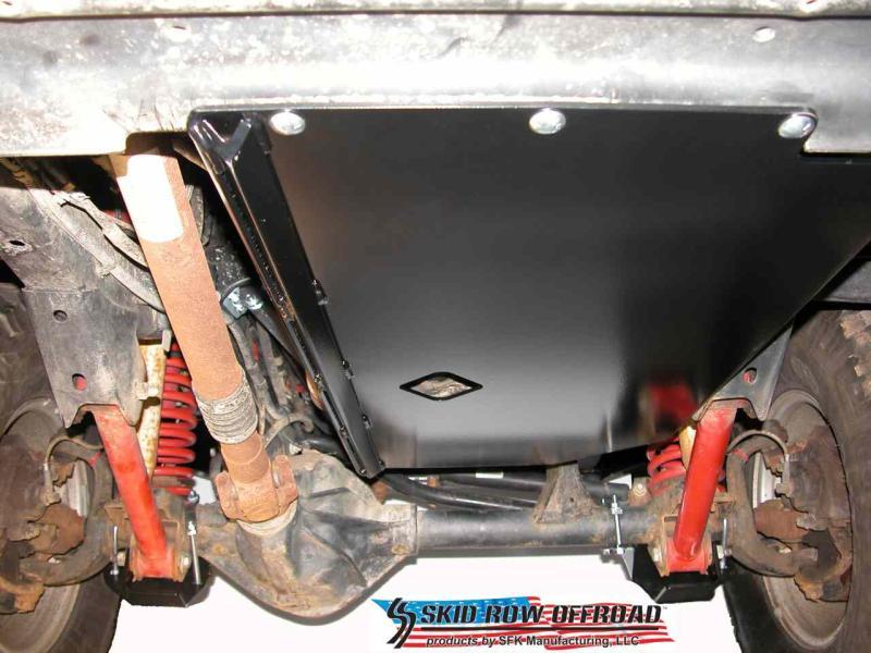 Jeep Wrangler Unlimited Interior >> Skid Row Engine Skid - 97-02 TJ, 4.0L | JP-0009 ...