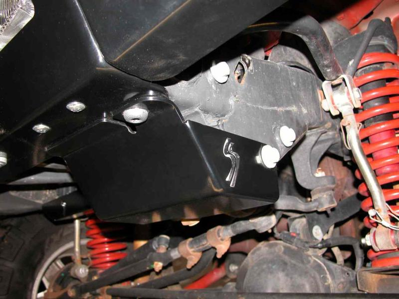 Skid Row Tj Steering Box Skid Plate Jp 0016