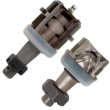 Poly Performance Synergy Suspension D30/D44 Heavy Duty Front Ball Joint Sets