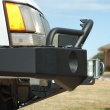 C4x4 ZJ Trailblazer winch bumper. Shown with optional accessories.