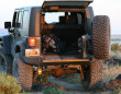 Expedition One Jeep JK Trail Series Rear Swingaway