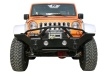 Rampage Front Recovery Bumper w/Stinger - Jeep JK