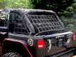 Raingler Jeep CJ/YJ/TJ/JK Wrangler roof/back window net