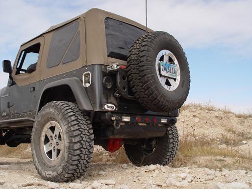 Tnt Customs Rear Tire Carrier Jeep Tj Lj Yj Ttc