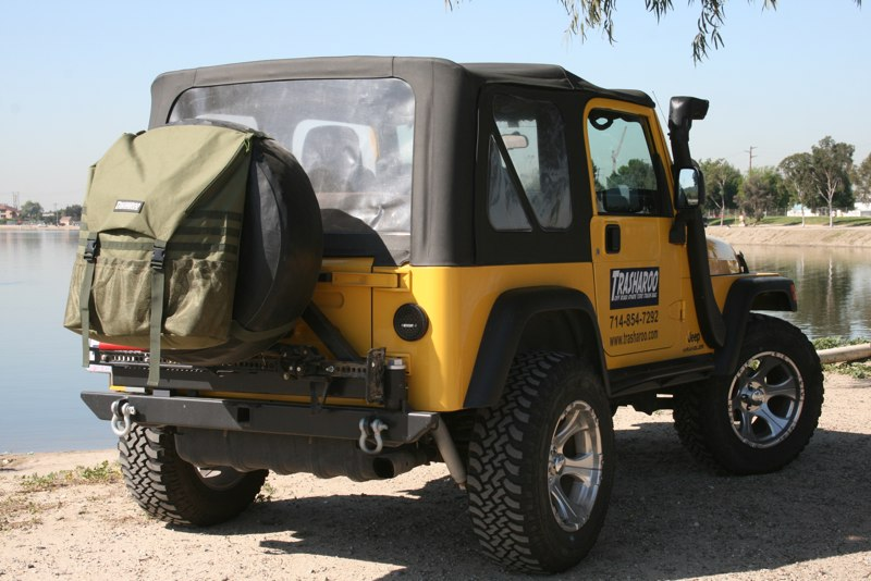 Trasharoo Spare Tire Trash Bag Ctpgen2 Jeepinoutfitters