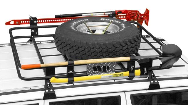 Warrior Products XJ Cherokee Safari Rack