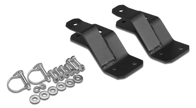 Warrior Products Hi Lift Jack Mounting Brackets 840