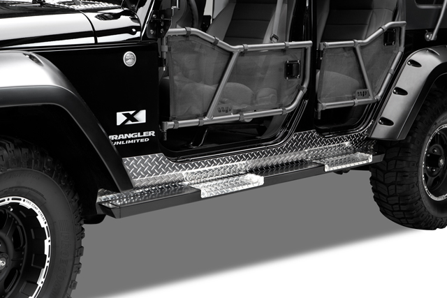 Warrior Products Tube Doors Front Jeep Jk 90773
