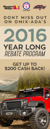 Omix-ADA 2016 Year Long Rebate Program