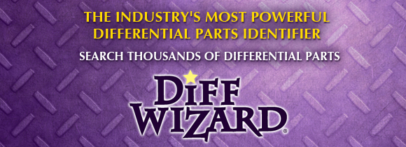 Search thousands of differential parts with the DiffWizard