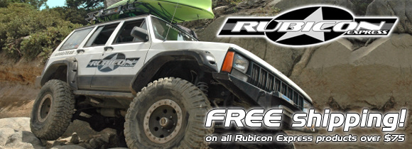 Free Shipping on Rubicon Express