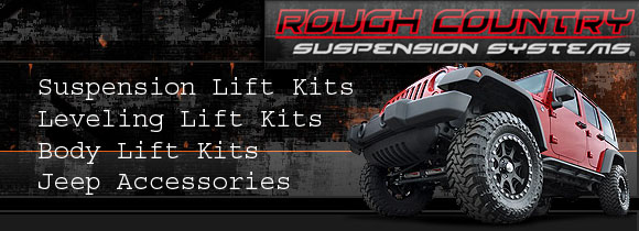 Rough Country Suspension Systems and Accessories