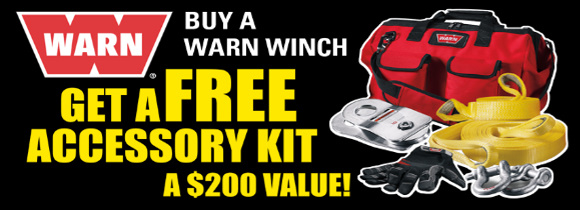 Buy a WARN get a FREE accessory kit