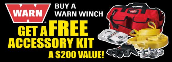 Warn Accessory Kit Giveaway