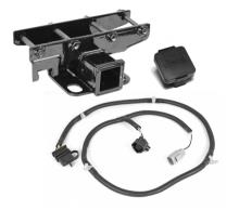Rugged Ridge Receiver Hitch Kit For 2007-2014 JK with Jeep Plug