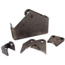 "Synergy MFG Jeep JK HD Weld-On Front Track Bar Bracket, 2.5"" Tube"