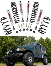 "Rough Country 2.5"" Suspension Lift Kit - Jeep TJ Wrangler 97-06"