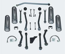 "Rubicon Express 3.5"" Jeep JK Wrangler Super-Flex Suspension Lift with TwinTube Shocks, 4 DR"