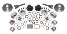 Alloy USA D30 Manual Locking Hub Complete Conversion Kit, Includes Alloy USA Inner Axle Shafts