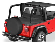 Bestop Duster Deck Cover, Jeep 03-06 Wrangler TJ