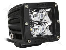 Rigid Industries Dually - LED Light - Spot - Amber - Single