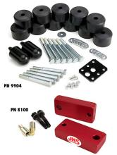 JKS TJ Body/Motor Mount Lift Combo Kit
