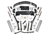 "Rough Country Jeep XJ 6.5"" X-series Long Arm Suspension Lift Kit, leafs, NP242"