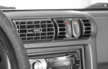 Rugged Ridge AC Vent Switch Pod Kit, Black, Jeep Wrangler (TJ) 1997-2006, Includes Switch Pod and Two Rocker Switches