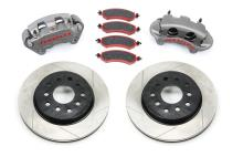 TeraFlex JK Front Big Brake Kit w/ Slotted Rotors