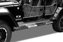 Warrior Products Tube Doors, Front, Jeep JK