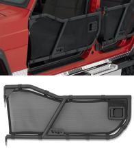 Warrior Products Tube Doors, Front, XJ Cherokee